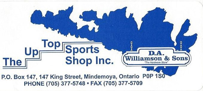 DA Willamson & Up Top Sports Shop
